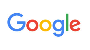 Colorful letters spell out Google.